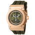 INVICTA Reserve Men 52mm Stainless Steel Rose Gold Olive Green dial G10.211 Quartz 12008