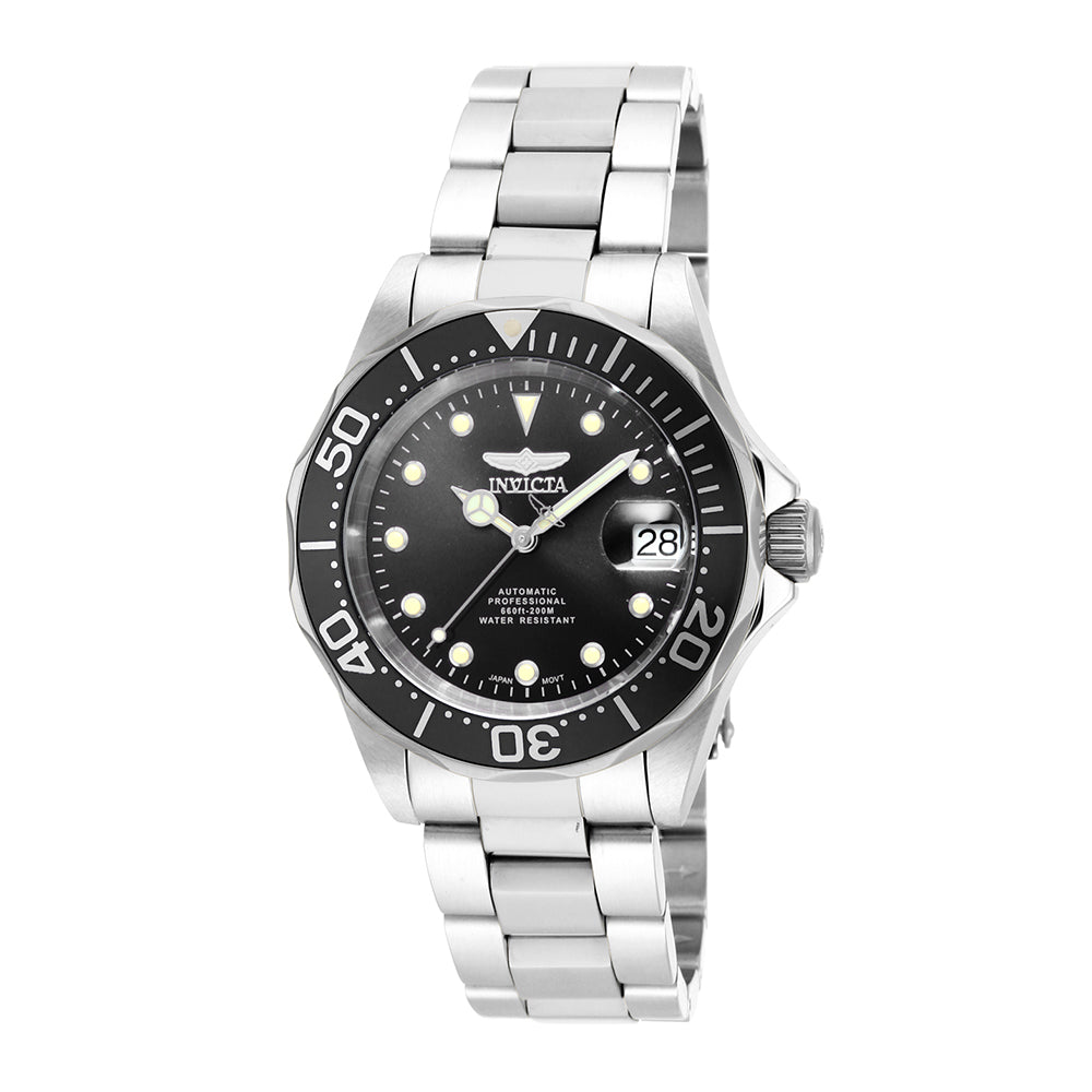 INVICTA Pro Diver Men 40mm stainless steel Black dial NH35A Automatic 17039