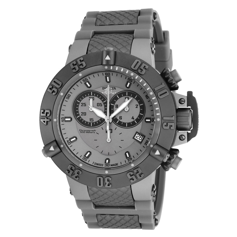 INVICTA Subaqua Men 50mm Stainless Steel Black + Titanium Titanium dial G10.211 Quartz 17214