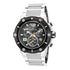 INVICTA Speedway Men 51.5mm Stainless Steel Black + Stainless Steel Black dial Z60 Quartz 19528