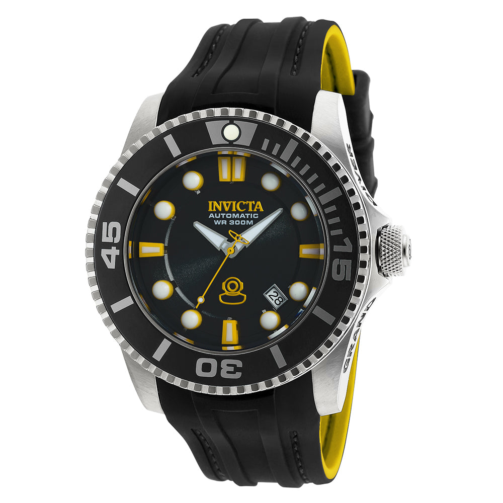 INVICTA Pro Diver Men 47mm stainless steel Black dial NH35A Automatic 20199