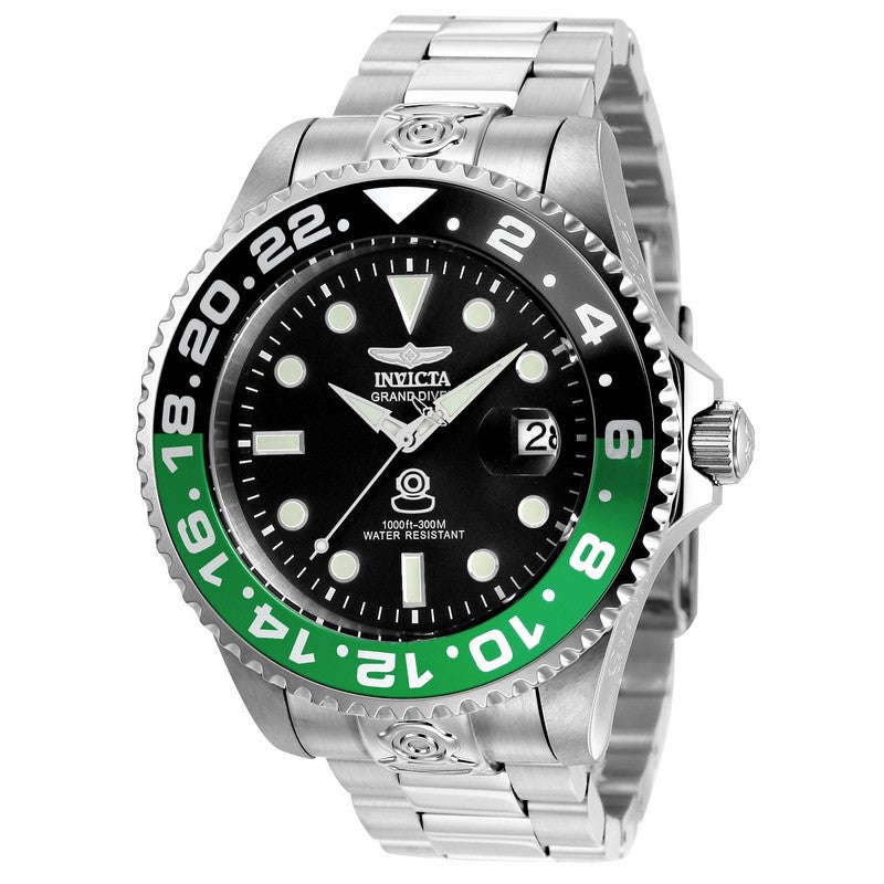 INVICTA Pro Diver Men 47mm stainless steel Black dial NH35A Automatic 21866