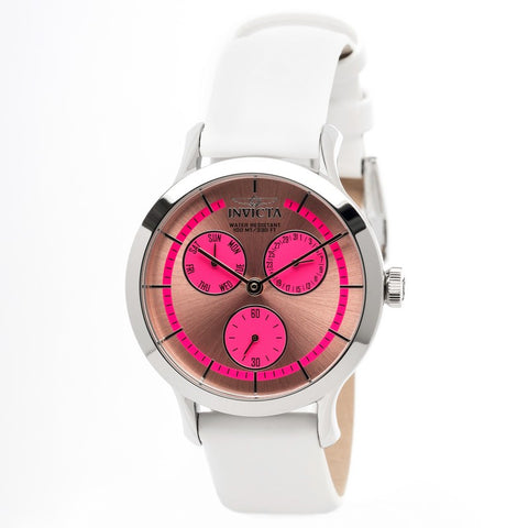INVICTA Angel Lady 38mm stainless steel Pink+Light Pink dial VD76 Quartz 22494