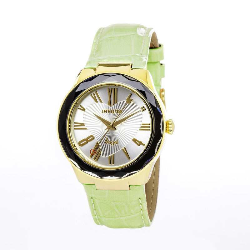 Invicta Angel Women Gold IP 38mm Quartz Watch 22535