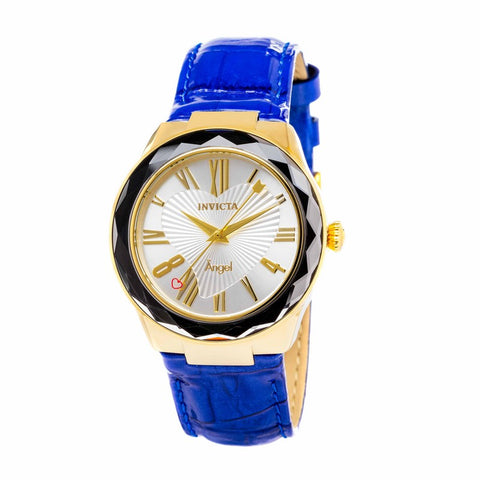 INVICTA Angel Lady 38mm Stainless Steel Gold Silver dial PC21 Quartz 22536