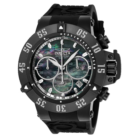 INVICTA Subaqua Men 50mm Stainless Steel Black Black dial 8371D Quartz 22922