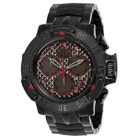 INVICTA Subaqua Men 55.45mm Stainless Steel Black Gunmetal dial Z60 Quartz 23809