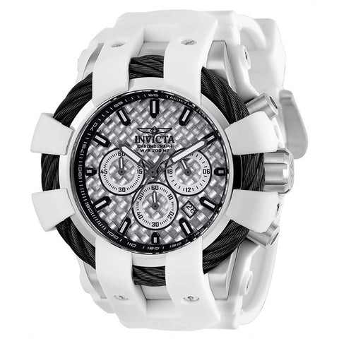 INVICTA Bolt Men 48mm stainless steel Silver dial VD53 Quartz 23857