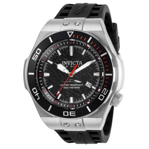 INVICTA Pro Diver Men 53mm stainless steel Black dial NH35A Automatic 25683