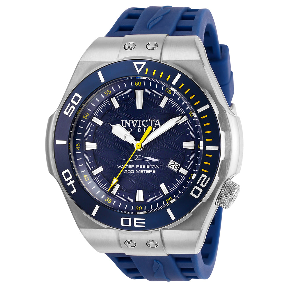 INVICTA Pro Diver Men 53mm stainless steel Blue dial NH35A Automatic 25691