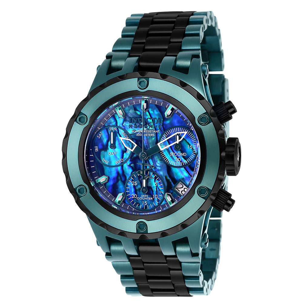 INVICTA Reserve Lady 40mm Stainless Steel Black + Green Blue+Green dial Z60 Quartz 26017
