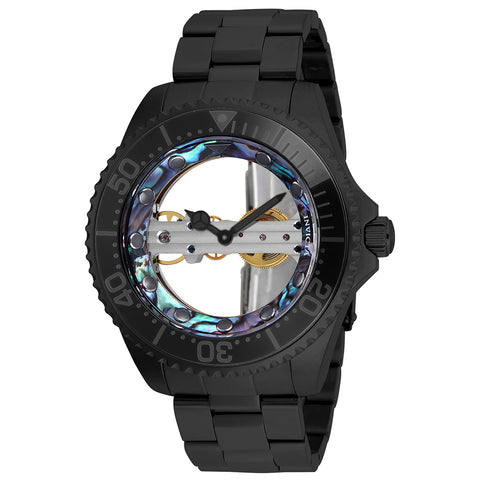 INVICTA Pro Diver Men 40mm Stainless Steel Iridescent Black dial NH35A Automatic
