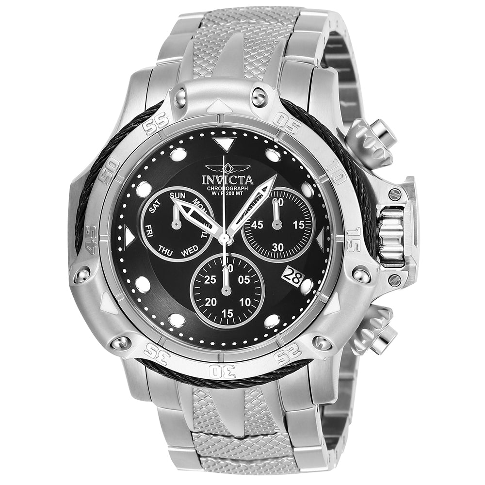 INVICTA Subaqua Men 55.45mm Stainless Steel Black + Stainless Steel Black dial Z60 Quartz 26720