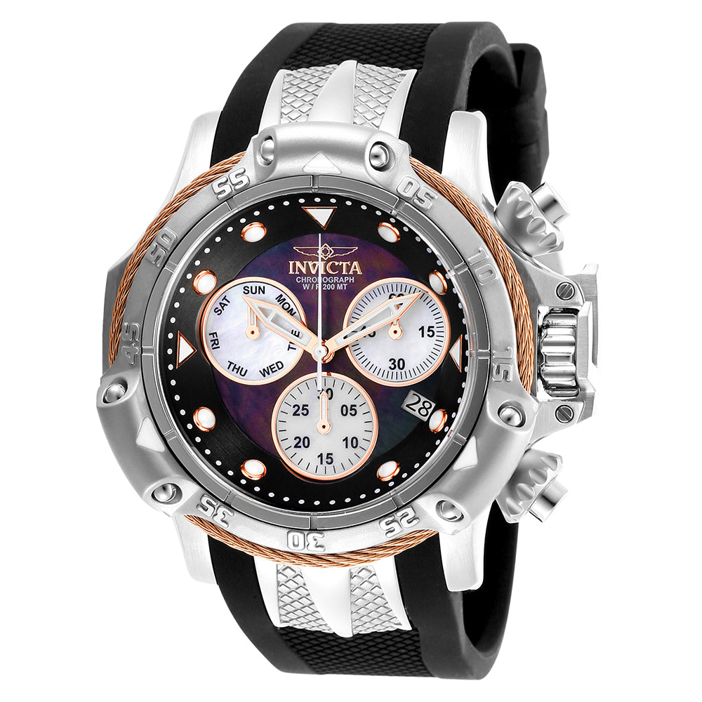 INVICTA Subaqua Men 55.45mm Stainless Steel Rose Gold + Stainless Steel Black+White dial Z60 Quartz 26963