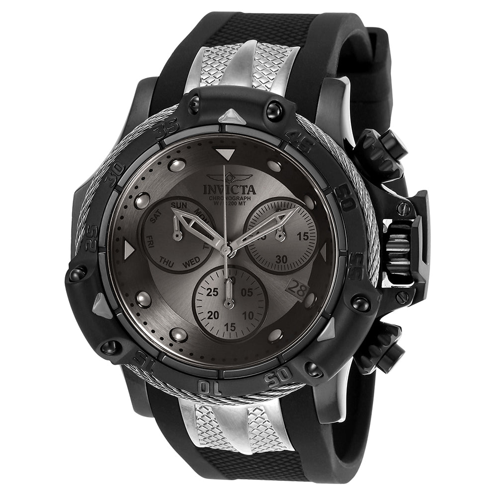 INVICTA Subaqua Men 55.45mm Stainless Steel Black + Titanium Gunmetal dial Z60 Quartz 26969