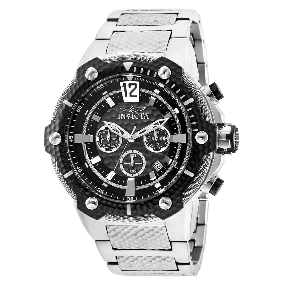 INVICTA Subaqua Men 53mm stainless steel Black dial VD53 Quartz 27303