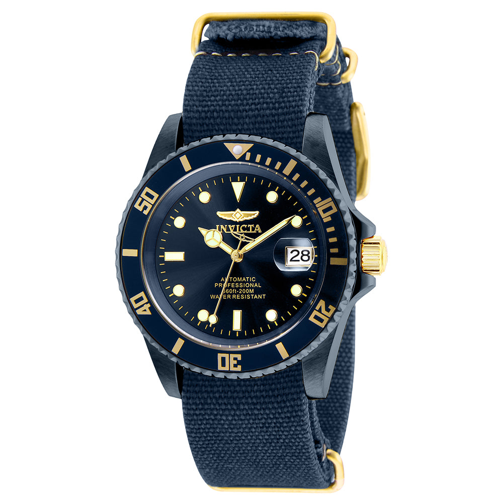 INVICTA Subaqua Men 52mm Stainless Steel Black Black dial Z60 FE Quartz