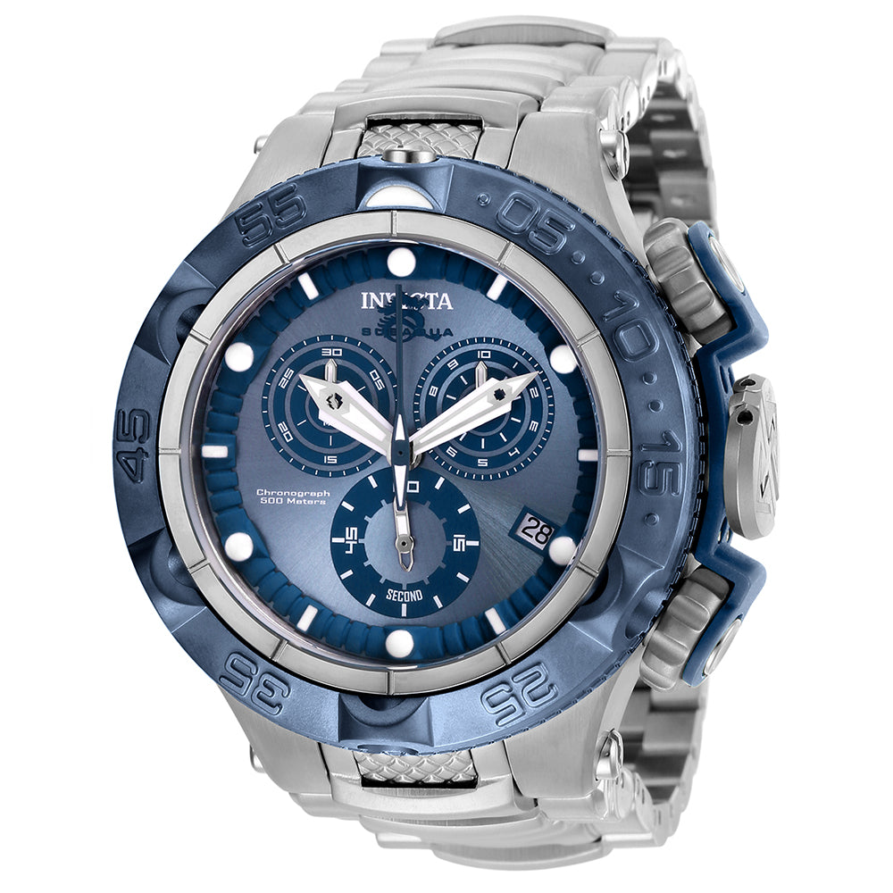INVICTA Subaqua Men 50mm Stainless Steel + Plastic Blue + Light Blue + Stainless Steel Blue+Light Blue dial G10.211 Quartz 27679
