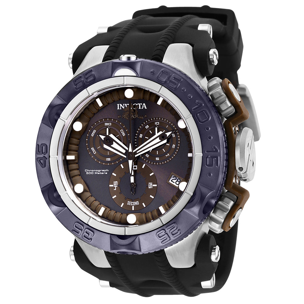 INVICTA Subaqua Men 50mm Stainless Steel + Plastic Brown + Stainless Steel Brown+Light Brown dial G10.211 Quartz 27685