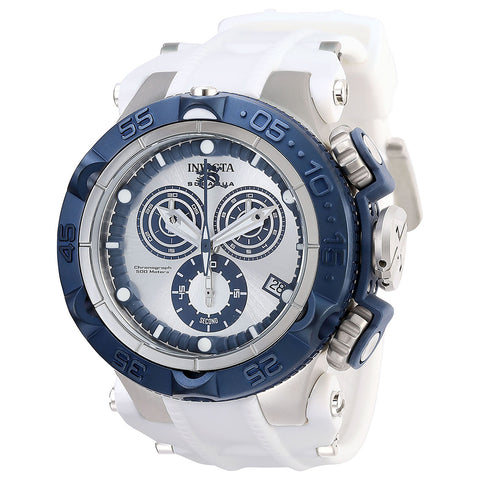 INVICTA Subaqua Men 50mm Stainless Steel + Plastic Blue + Stainless Steel Blue+Silver dial G10.211 Quartz 27689