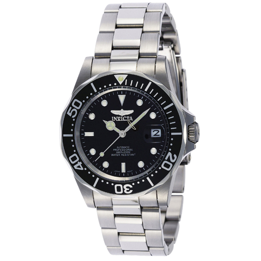 INVICTA Pro Diver Men 40mm stainless steel Black dial NH35A Automatic 8926