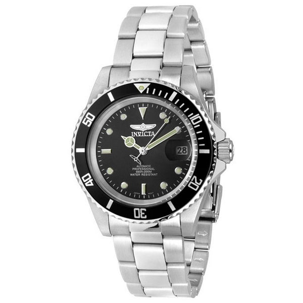 INVICTA Pro Diver Men 40mm stainless steel Black dial NH35A Automatic 8926OB