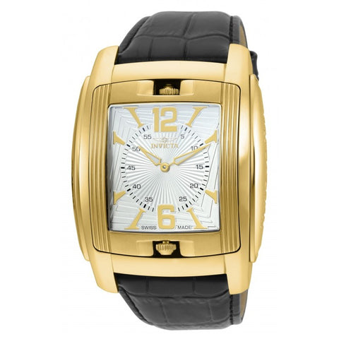Invicta Vintage Men Swiss Quartz Gold IP 48mm Watch 90181