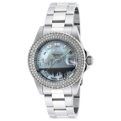 Invicta Angel Women Swiss Quartz 40mm Stainless Steel Watch 90288