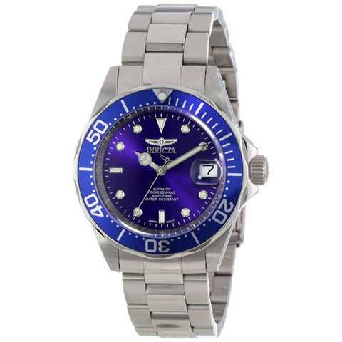 INVICTA Pro Diver Men 40mm stainless steel Blue dial NH35A Automatic 9094