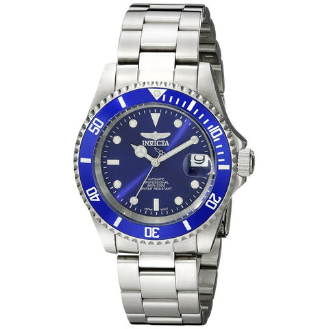 INVICTA Pro Diver Men 40mm stainless steel Blue dial NH35A Automatic 9094OB