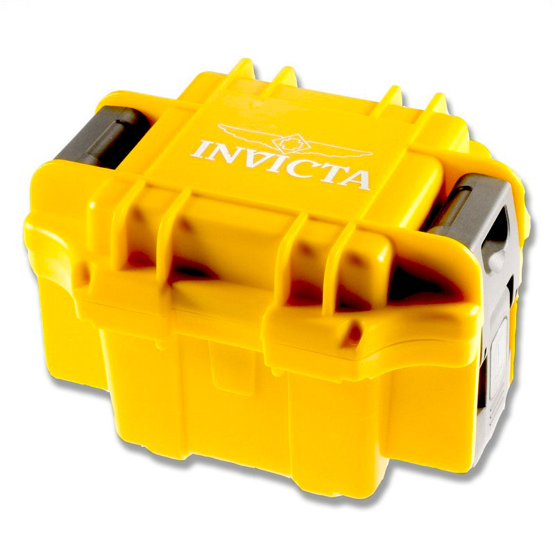 Invicta One Slot Yellow Watch Collector Box IPM10