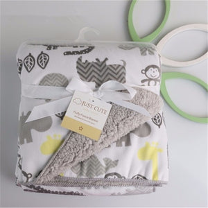 Soft and comfortable baby blankets 5 options.