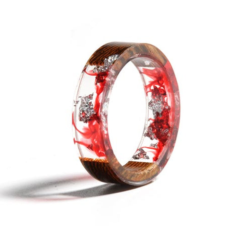 Mary Purity Ring Red Fluid front view