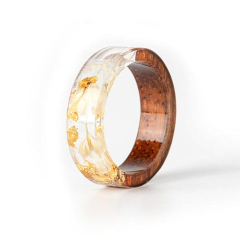 Mary Purity Ring Golden Fluid front view