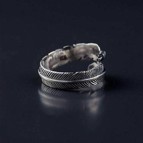 Anna Purity Ring in silver metal