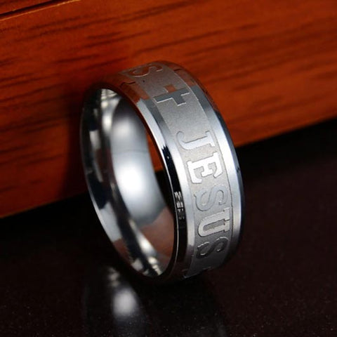 Silver Bartholomäus Ring in stainless steel
