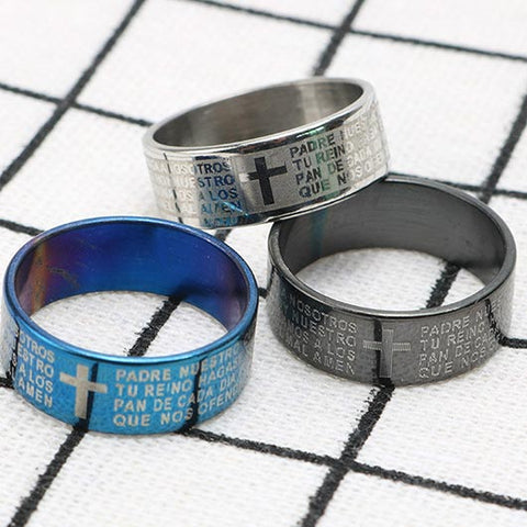 Abraham Ring in steel collection