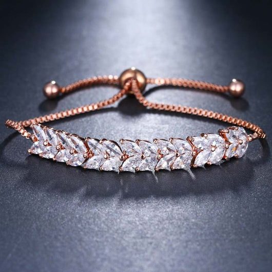 Hannah bracelet in rose gold