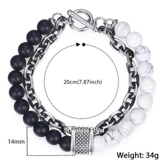 Adam Bracelet measurements