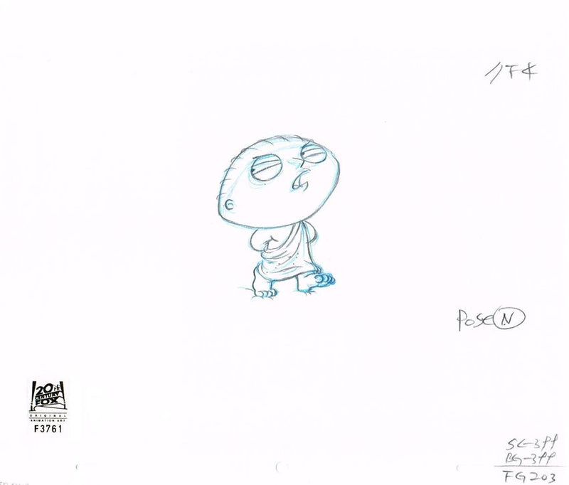 2ACX03 (Season 3) | Family Guy Production Art thumb