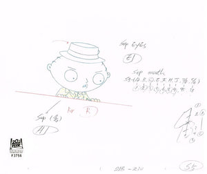 2ACX21 (Season 3) | Family Guy Production Art