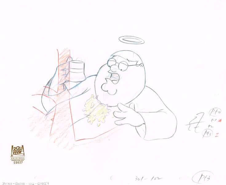 3ACX01 (Season 3) | Family Guy Production Art thumb