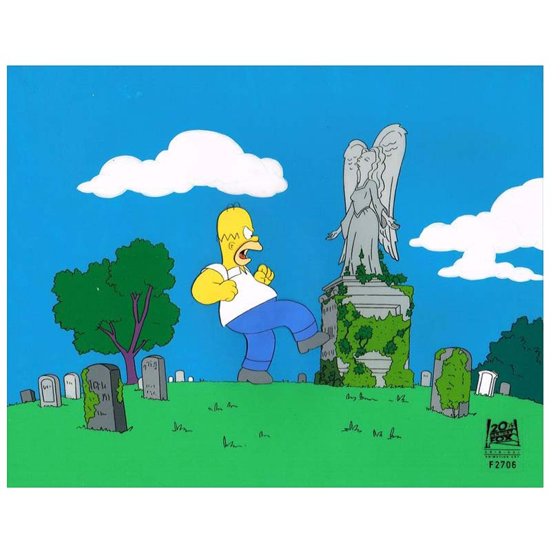 3F06 (Season 7) | Simpsons Production Art thumb