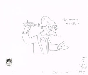 4ACV08 (Season 4) | Futurama Production Art