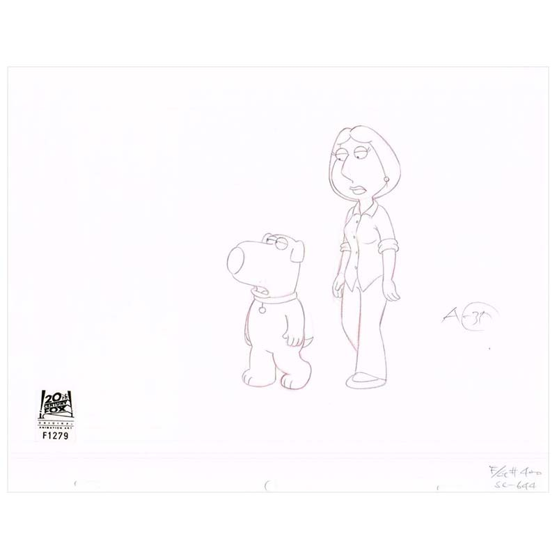 4ACX20 (Season 4) | Family Guy Production Art