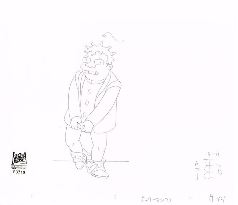 3ACV16 (Season 3) | Futurama Production Art