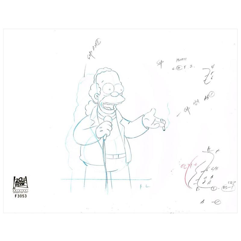 5F10 ( Season 9) | Simpsons Production Art thumb