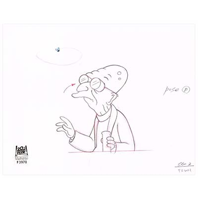 5ACV09 (Season 5) | Futurama Production Art thumb