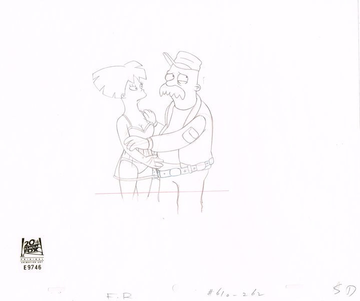 6ACV10 (Season 6) | Futurama Production Art thumb