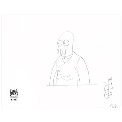 6ACV19 (Season 6) | Futurama Production Art thumb